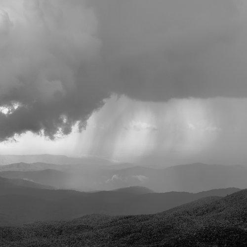 Ominous Cloudburst by Jim Harrison