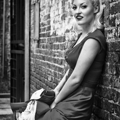 Pin Up Girl by Chris Handley