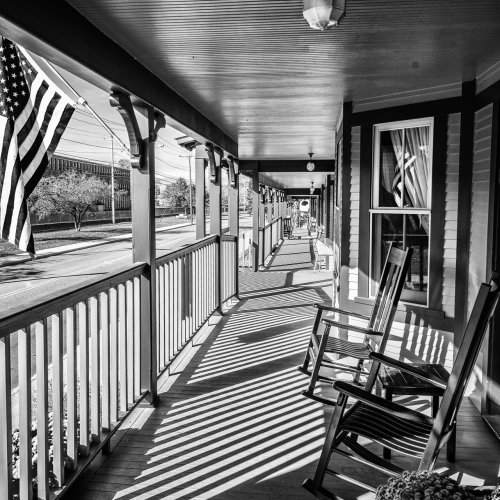 Mono 1st - Members Choice - The Porche_s Porch by Steve Director