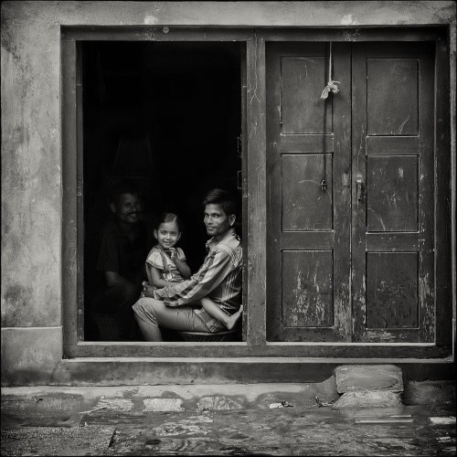 Mono 3rd - Delhi Doorway by Marc McElhaney