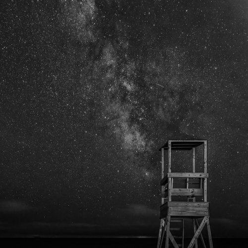 Mono 1st-Members Choice-A Costal View of the Milky Way by Steve Director