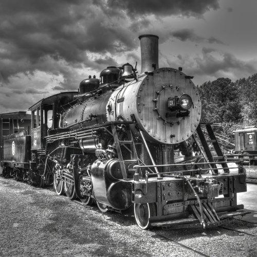 Mono 3rd-Locomotive by Michael Amos