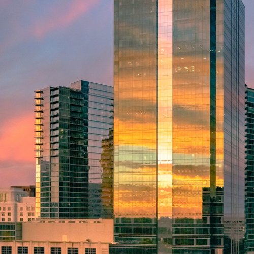 HM Color - Midtown Surise, Reflected by Steve Director