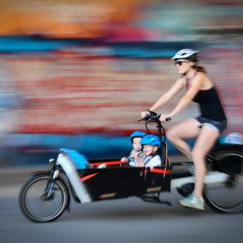 Color hm - Biker Momma by Scott Turner