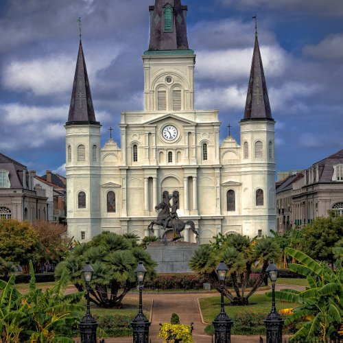2nd Digital - St Louis Cathedral by Stan Greenberg
