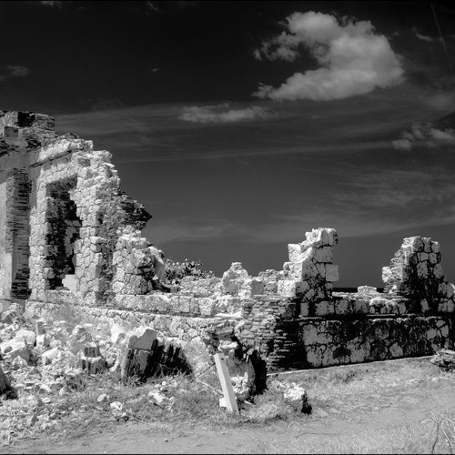 Digital HM - Lighthouse Ruin, Puerto Rico by Don Stephens
