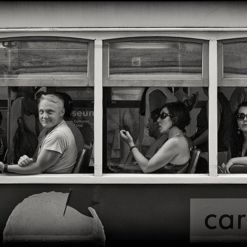 Mono 2nd - The Tour Bus by Marc McElhaney