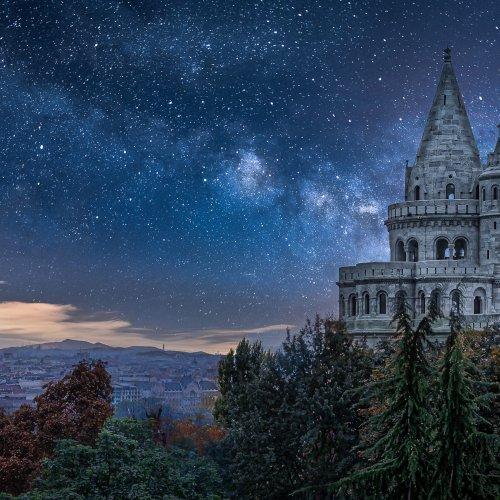Digital HM - Stars over Budapest (composite)