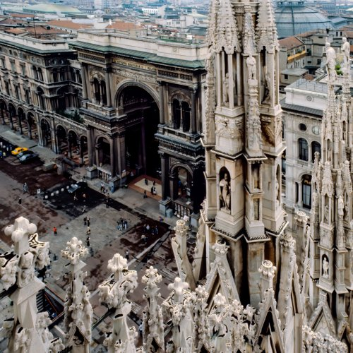 Color 3rd - Duomo View by Mike Shaefer