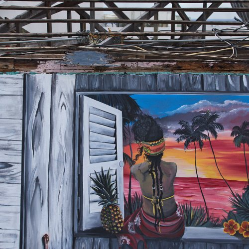 Color 3rd-Hope in Ruins - Puerto Rico by Jim Harrison