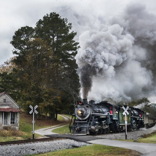 Color 1st - Steam Locomotive 630 in Rock Sping GA by Michael Amos