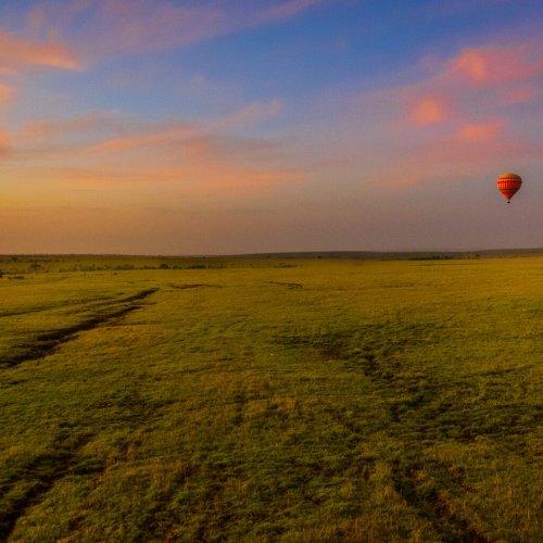 Digital 3rd - Morning Flight Over the Masai Mara by Steve Director