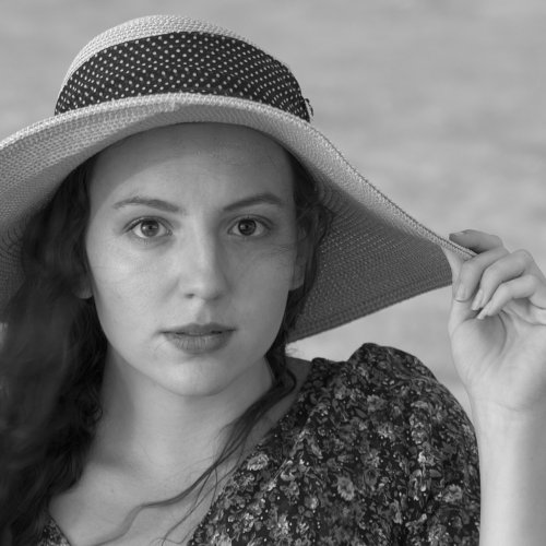 Mono 2nd - Lena at the Beach by Jim Harrison
