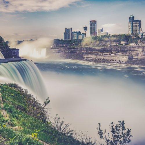 Digital 3rd - Misty Niagara by Rohit Kamboj
