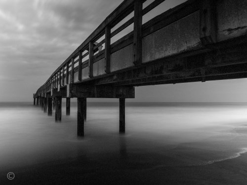 Mono 1st - Members Choice - UNDER ST. JOHNS PIER by Janerio Morgan